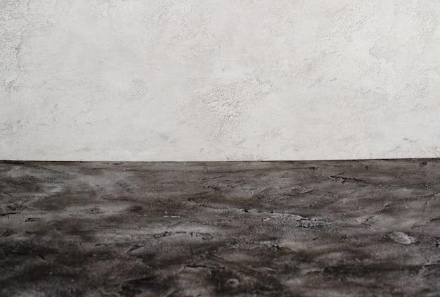 Superfície de mármore preto e cinza claro