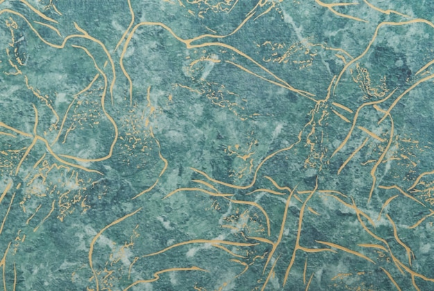 Superfície de mármore verde para plano de fundo e textura