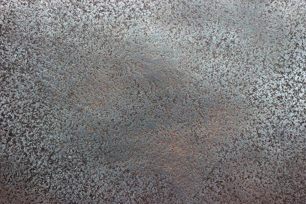 Superfície de metal fundo