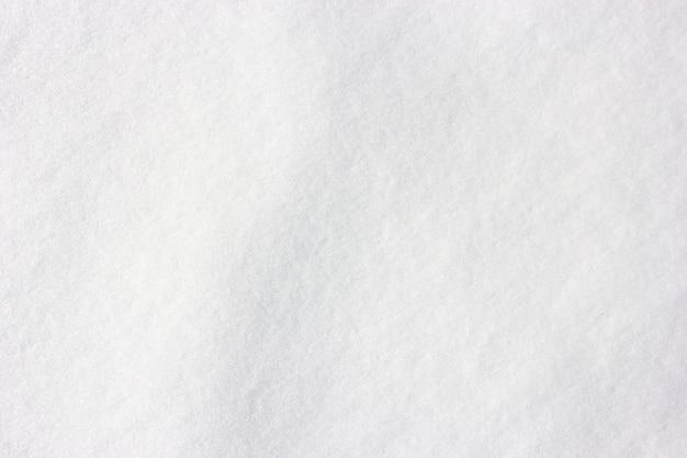 Superfície de neve para fundo branco