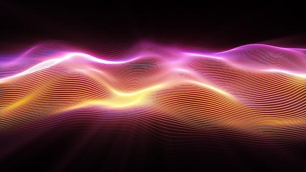 Superfície de onda abstrata