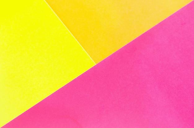 Superfície de papel geométrica abstrata