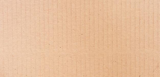 Superfície de papelão marrom