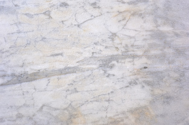 Superfície de pedra de mármore branco