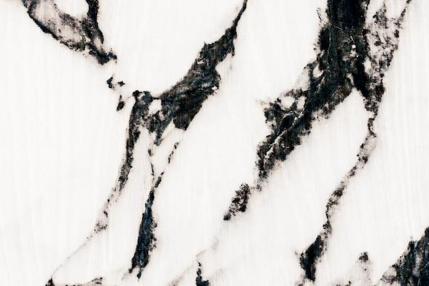 Superfície de pedra marmoreada branca