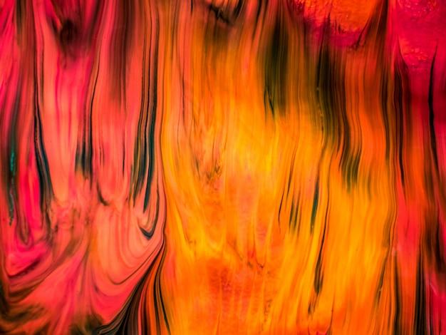 Superfície de pintura abstrata
