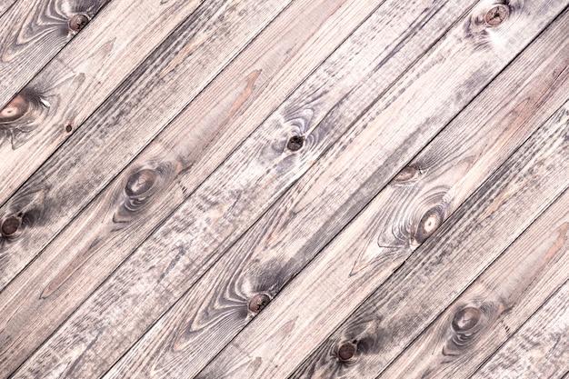 Superfície de pranchas de madeira leves