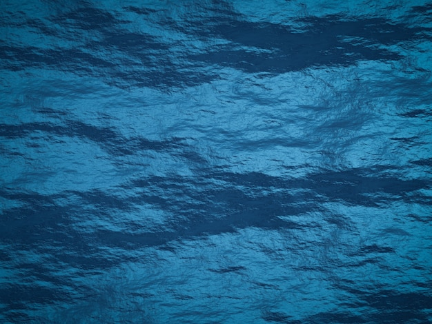 Superfície de rocha maciça azul de renderização 3d. fundo de stonewall.