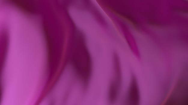Superfície de tecido de onda de seda roxa. fundo macio abstrato.