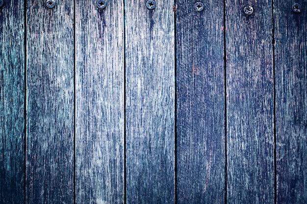 Superfície de textura de madeira de prancha índigo