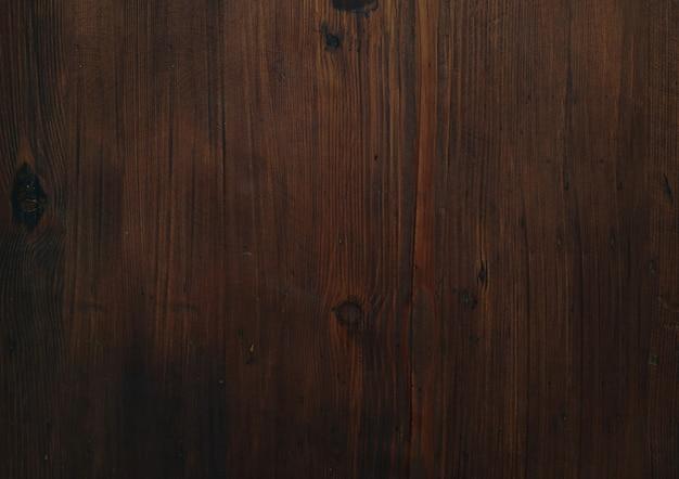 Superfície de textura de madeira escura