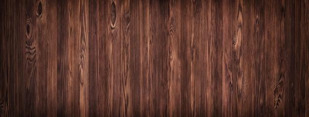 Superfície de textura de madeira natural, marrom de uma mesa de madeira