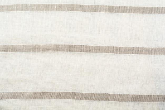 Superfície de textura de tecido de linho