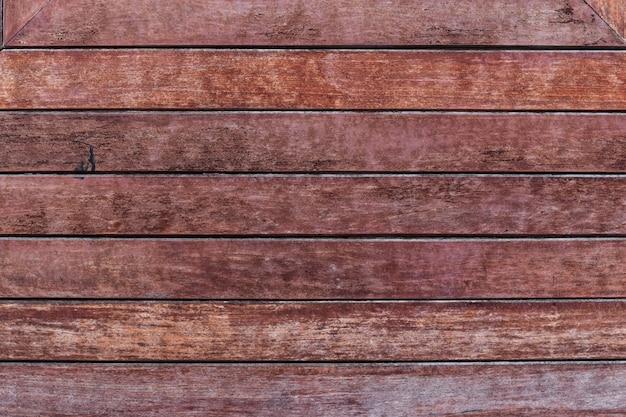 Superfície de um painel de madeira velho vazio para o design de interiores e a decoração exterior.