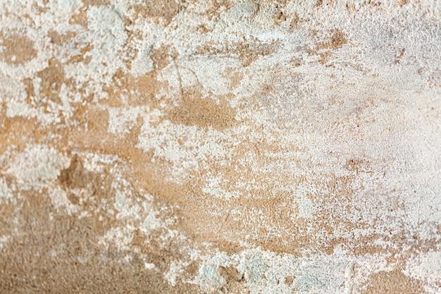 Superfície desgastada do cimento com superfície áspera
