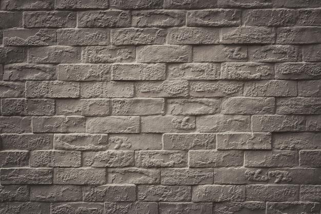 Superfície do fundo da parede de tijolo vintage para design em seu conceito de pano de fundo de textura de trabalho.