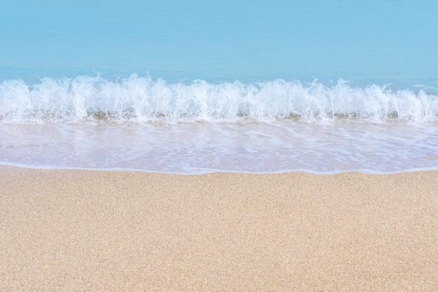 Superfície do mar tropical