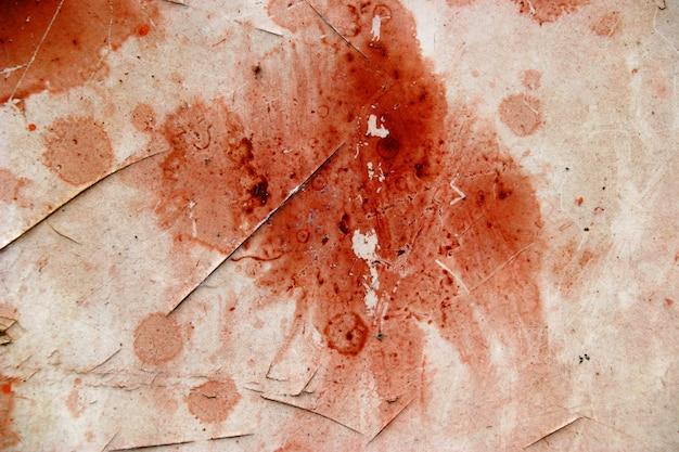 Superfície do sangue vermelho