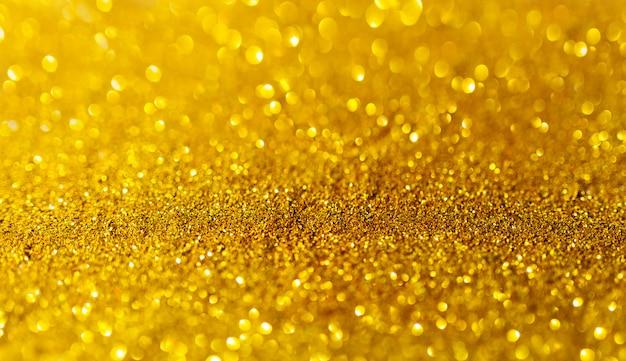Superfície dourada brilhante