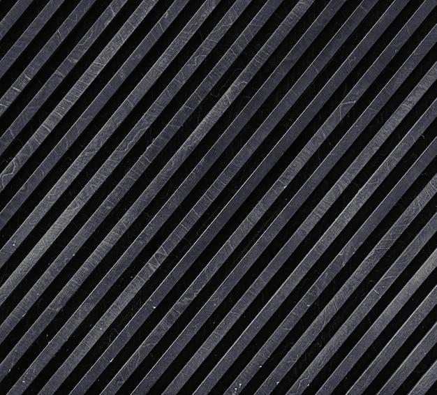Superfície metálica listrada