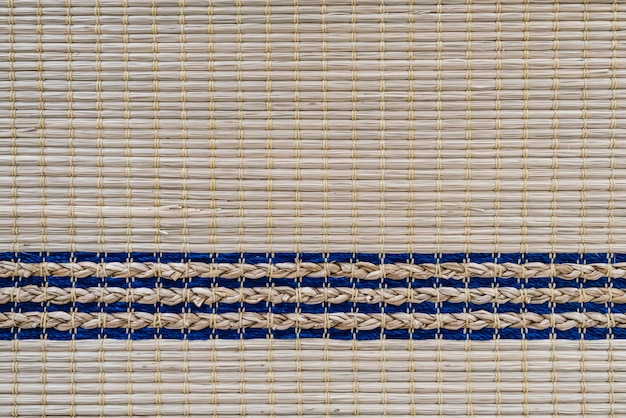 Superfície mista de sisal natural, textura de fundo e cor
