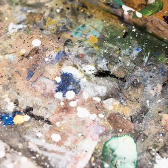 Superfície pintada aquarela abstrata texturizada suja