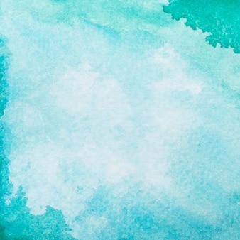 Superfície pintada com aquarela criativa