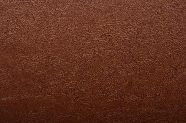 Superfície simples de fundo de textura de couro marrom luxo