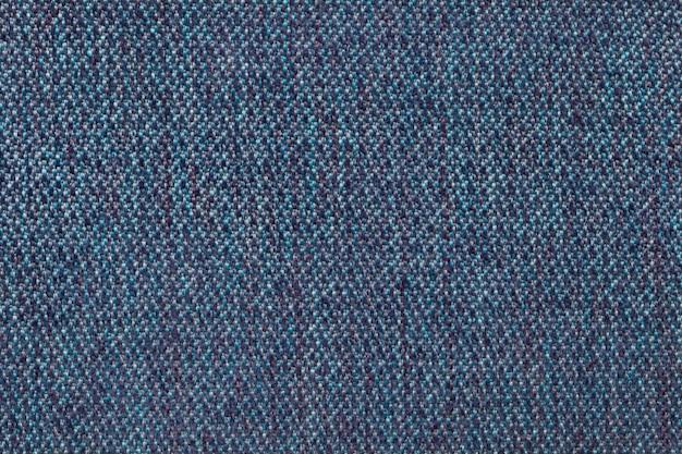 Superfície têxtil azul marinho