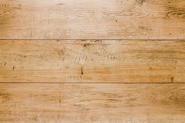 Superfície texturizada de pranchas de madeira