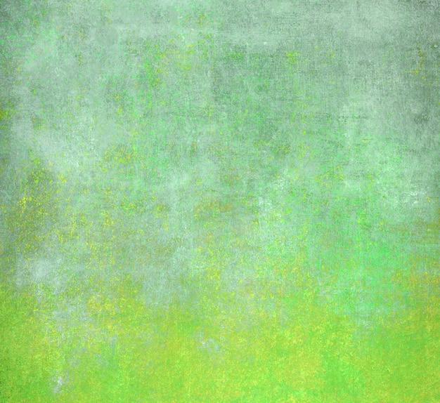 Superfície verde e azul do grunge abstrato
