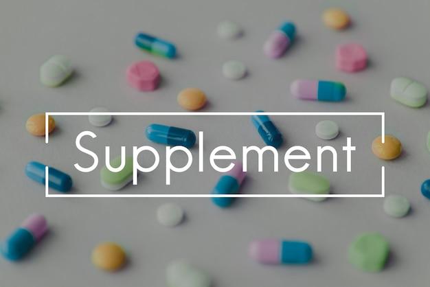 Suplemento dietético healthcare treatment drugstore