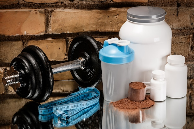 Suplementos e equipamentos alimentares