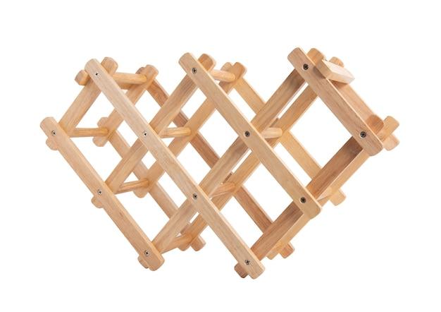 Suporte de madeira para cozinha de cozinha