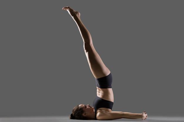 Suporte de ombro não suportado para yoga