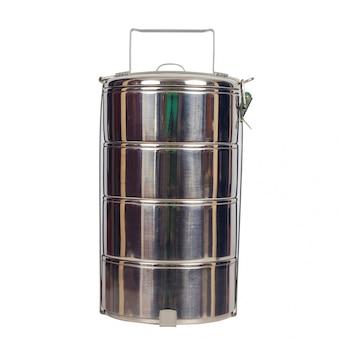 Suporte para alimentos em aço inoxidável ou recipiente para alimentos em tiffin.