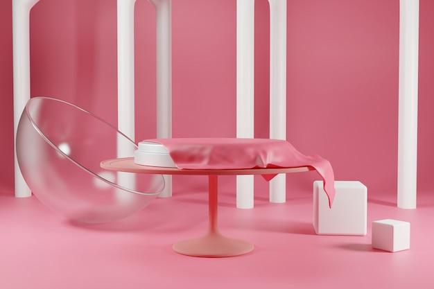 Suporte para bolo com tampa de vidro