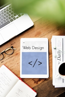 Suportes de codificação de modelo de layout da web