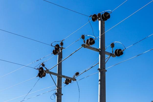 Suportes de linha de energia
