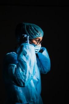 Suregeon operating
