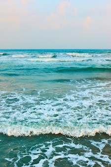 Surf no mar mediterrâneo - seascape