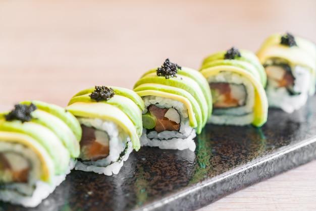 Sushi de abacate