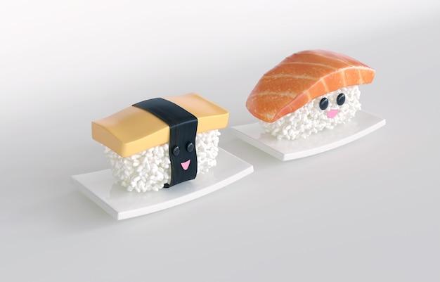 Sushi de culinária japonesa
