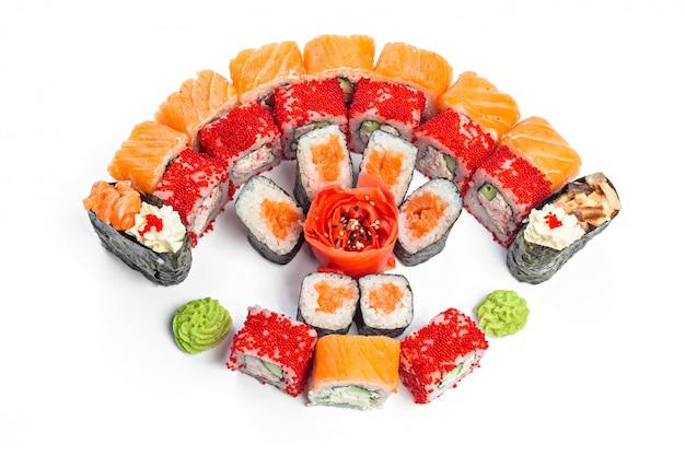 Sushi em branco