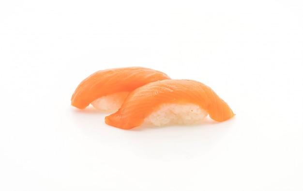 Sushi nigiri de salmão - estilo de comida japonesa