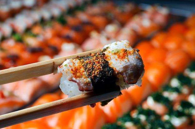 Sushis e sashimis