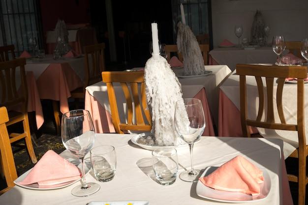 Tabela, armando, em, restaurante, ischia, ilha, campania, itália