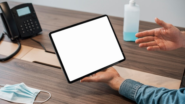 Tablet digital de cópia de alta visualização