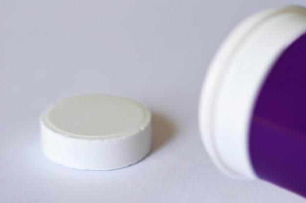 Tablet para perda de peso de emagrecimento de aptidão de saúde.