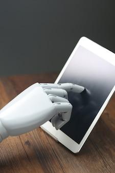 Tableta de operações robóticas ai